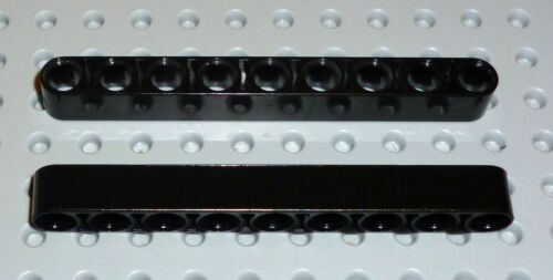 Thick 1 x 9 BLACK x 2 TECHNIC LEGO 40490 TK543 LIFTARM