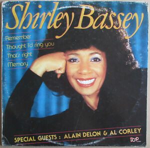 Shirley-Bassey-1983-Thought-I-039-d-Ring-You-Memory-Remember-That-039-s-Right-NM