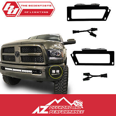 DAT AUTO PARTS Fog Light Bracket Replacement for 09-12 RAM Pickup 1500 10-16 RAM Pickup 2500 3500 for 1500 Without Sport Models and All 2500 3500 Series Models CH1061100R CH1061100 Right Passenger