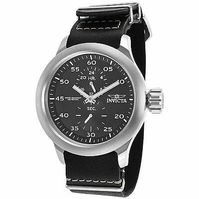 Invicta 19494 Men's Russian Aviator Silver-Tone Quartz Watch