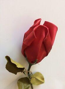 Vintage Rose Dolls Hats Flowers Doll Dresses Red Ribbon Satin