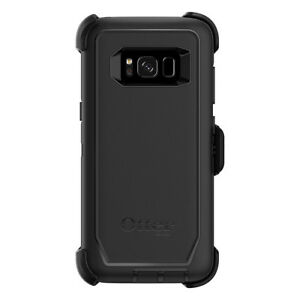 New-Otterbox-Defender-Series-Case-for-Samsung-Galaxy-S8-With-Holster-Black