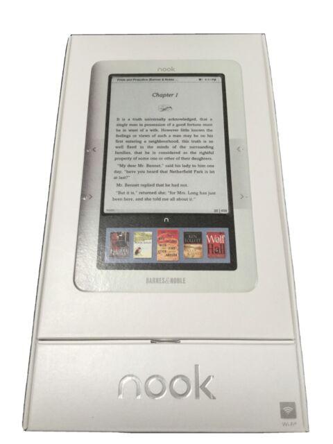 Barnes & Noble Nook 1st Edition e-Reader BNRV100 NEW