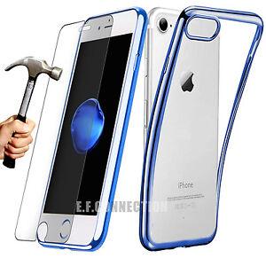 Coque Silicone iPhone 11 Pro X XR XS Max SE/8/7/6/S + VERRE TREMPE VITRE