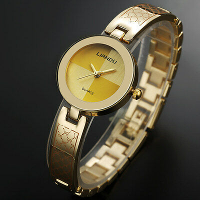Fashion Luxury Women's Watch Quartz Stainless Steel Band Wrist Watches