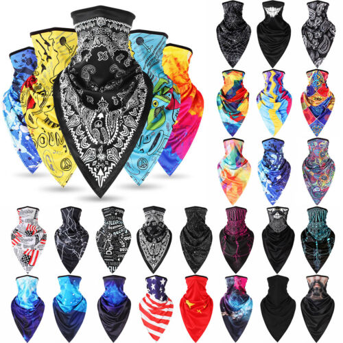 Outdoor Ski Cycling Face Mask Shield Neck Tube Motorcycle Scarf  Wrap Party