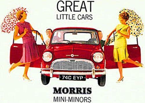 Morris Mini Minors Steel Wall Sign hb