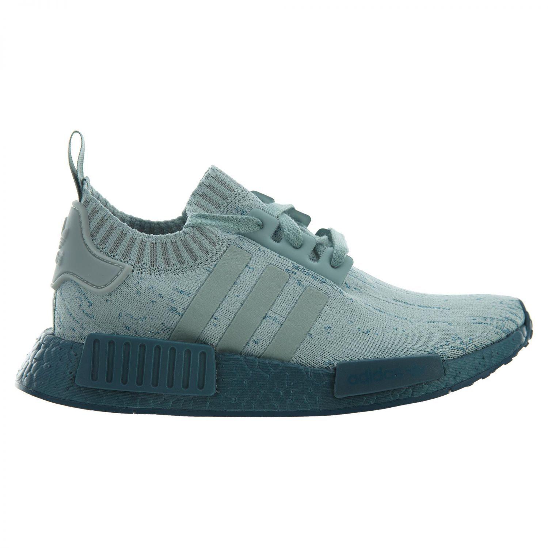 Adidas nmd r1 primeknit cristallo verde tattile mare donne cg3601 tattile verde scarpe taglia 6 97def3