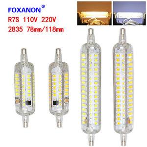 R7S-8W-15W-78mm-118mm-2835-SMD-LED-Flood-Light-White-Bulb-Lamps-Halogen