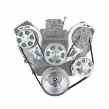 Speedmasters Pce415 1020 Short Water Pump Serpentine Pulley Set For Chevy Bbc454