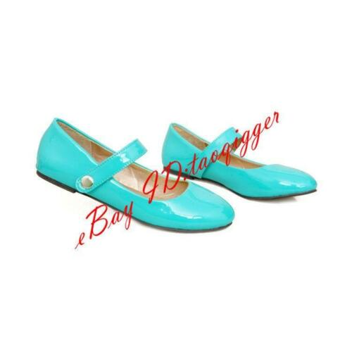 Chic Femme Boucle Flats Girl Escarpins Casual Mary janes chaussures Sandales Ballet W417
