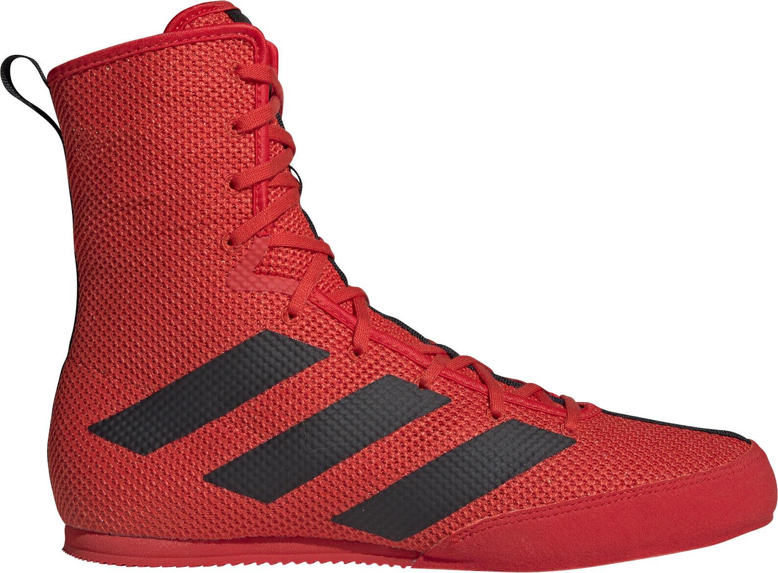 Adidas Box Hog 3 Mens Boxing shoes - Red