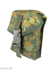 Paintball / Airsoft M249 Magazine Pouch (German Flecktarn) [W5]