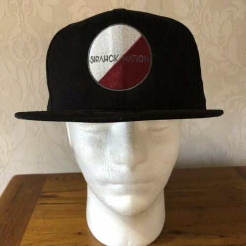 9 Fifty New Era Sirahck Nation Black Snap Back Baseball Cap