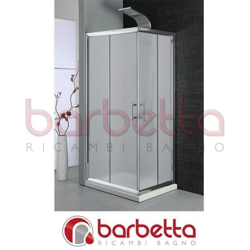 PARETE DOCCIA CON VETRO OPACO 98 100 FERIDRAS 891015