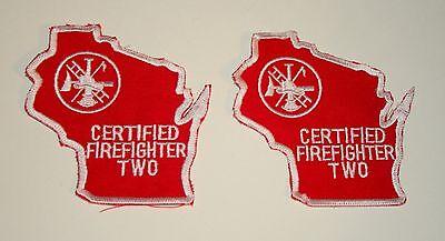 Set of 2 Vintage NJ State Dept of Health EMT Large Cloth Patch New NOS 1980/'s