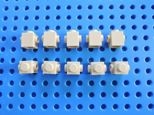 LEGO 10 x Stein Konverter 47905 beige tan 1x1  2 seitl Noppen