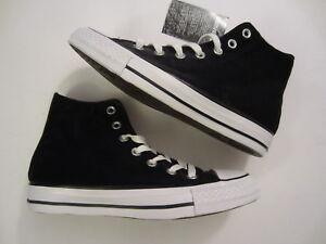 2d62372a5f67 NEW Converse Chuck Taylor All Star Hi High Top Velvet 557929C black ...