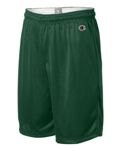"""Champion Mens NEW Size S-3XL Athletic Poly Mesh Gym Basketball Shorts 9/"""" Inseam"""