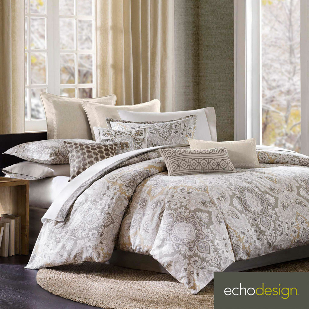 Echo Design Odyssey Queen  Comforter Set 4 pc.