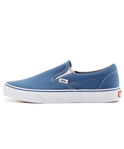 Vans auténticas clásicas Slip On VN 000 eyenvy Informal Hombre Azul Marino Zapatillas De Lona
