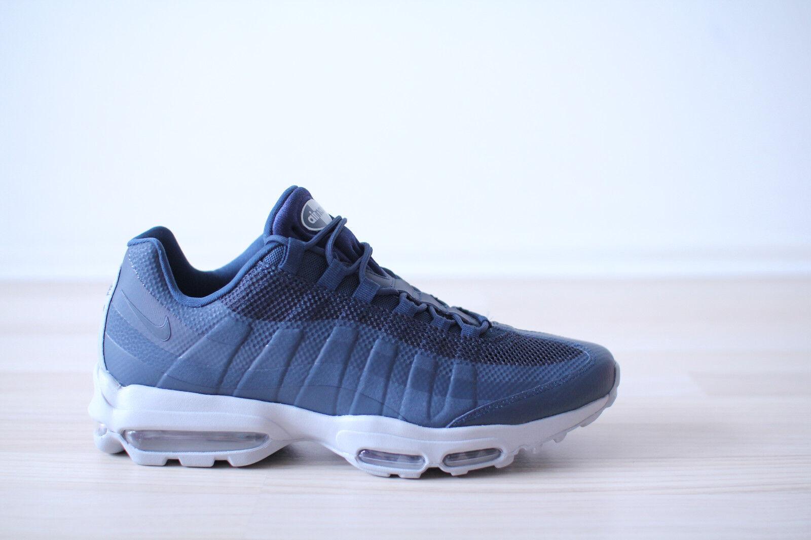 Nike Air Max 95 Ultra Essential Blau Grau Gr. 43,45,46,47,48 NEU & OVP