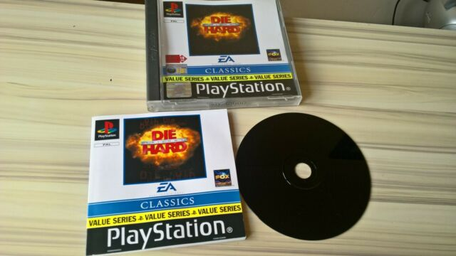 Die Hard Trilogy Sony Playstation 1 1996 - PS1 Game EA Classics with manual
