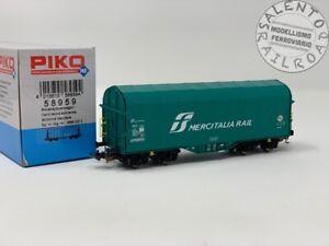 PIKO-58959-carro-merci-telonato-Shimmns-FS-034-Mercitalia-Rail-034-ep-VI-1-87