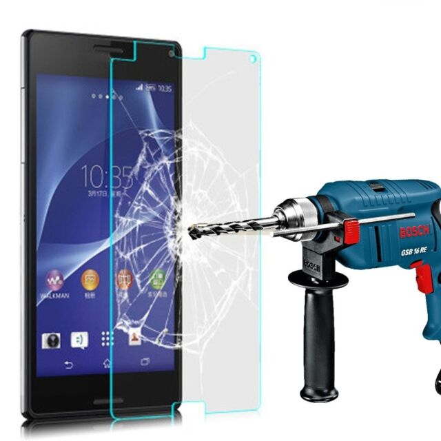 protection écran en verre trempé pour Sony Xperia C4 - Poli Verre Oléophobe