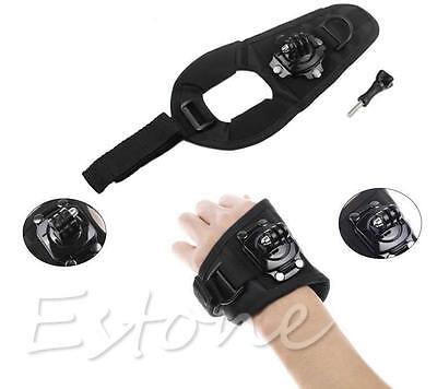 Adjustable 360 Degree Rotate Wrist Hand Strap Holder Mount for GoPro Hero Camera