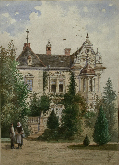 Vincenz HAVLICEK (1864-1914) Alte Villa – Palais.