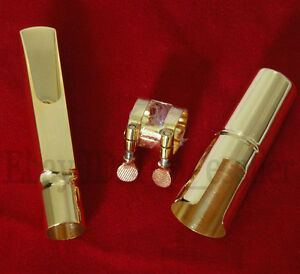 Super-Gold-Plated-Metal-Jazz-Mouthpiece-for-Tenor-Saxophone-Bb-Sax-New-7