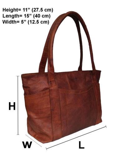 Classic Women/'s Shoulder Tote Bag Genuine Leather Handbag  Evening Satchel Purse