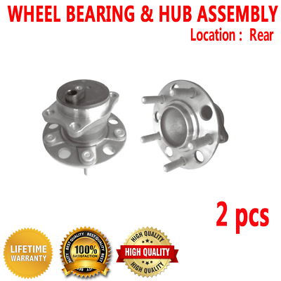 Note: FWD Convertible, Sedan 4-Wheel ABS 2005 fits Chrysler Sebring Rear Wheel Bearing and Hub Assembly One Bearing Included with Two Years Warranty