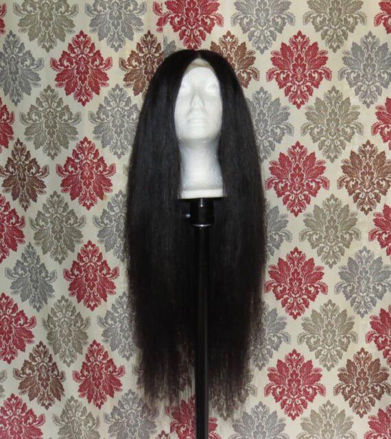 Virgin Brazilian Lace Closure Wig- 20 22 24 w/ 18 inch closure