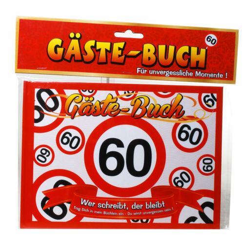 Gästebuch Geburtstag Hochzeitversch 60 30 zur Wahlwitzig 50 40 18