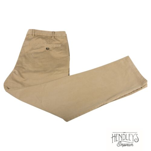 LORO PIANA Pants 36x30 in Sand Beige Khaki Cotton