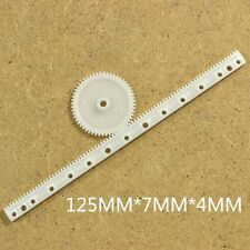 20 Pcs X Gear Rack 05 Modulus Plastic Rack Pinion Drive Rod Diy Parts