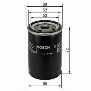 BOSCH-ENGINE-OIL-FILTER-OE-QUALITY-REPLACEMENT-0986452028
