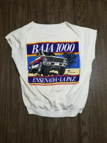Vintage 1986 BAJA 1000 500 Women's Shirt - Medium