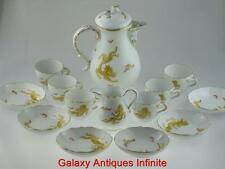 Large 20th Century Meissen Ming Dragon Porcelain Coffee Service