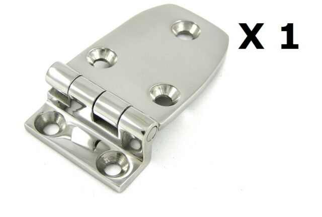 1 X Heavy Duty Offset Hinge 38 76mm 316 Stainless Steel Hatch Deck Diy Boat