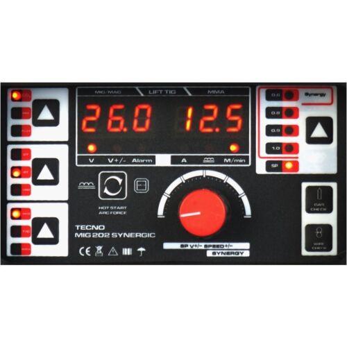 Inverter Halbautomatische Schweißgerät 200A MIG//MAG//WIG//MMA SYNERGIC VRD SET4