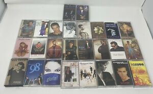 90's Early 00's Cassette Tapes Lot Of 26 Pop Rock VINTAGE RICKY MARTIN SPEARS