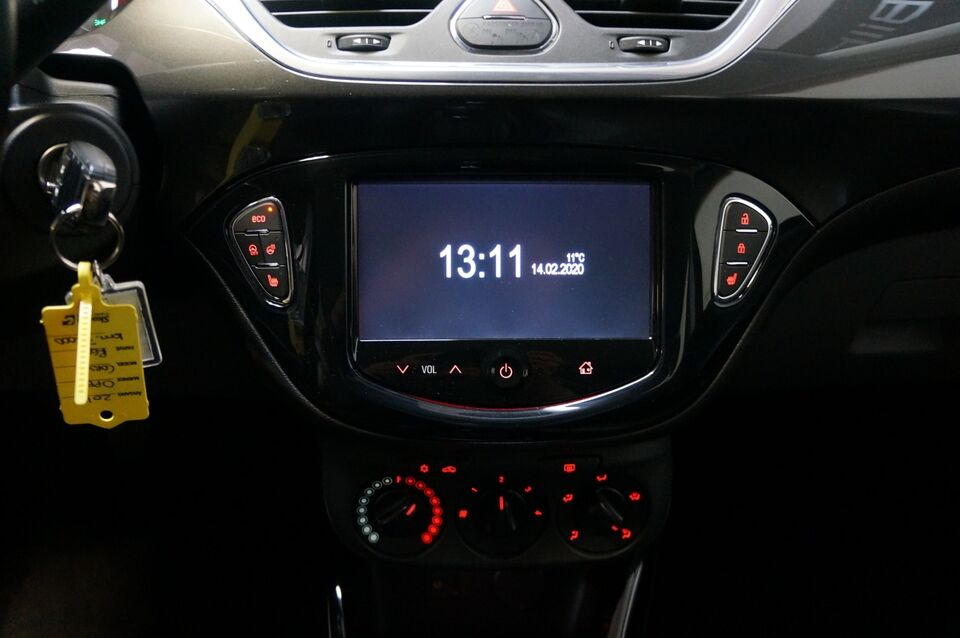 Opel Corsa 1,0 T 90 Cosmo Benzin modelår 2015 km 74000 Rød ABS