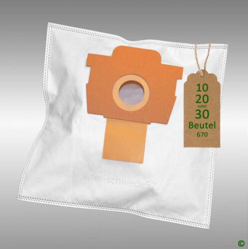 5699 #670 10 Sacchetto per aspirapolvere filtertueten adatto per Rowenta RO 5600.