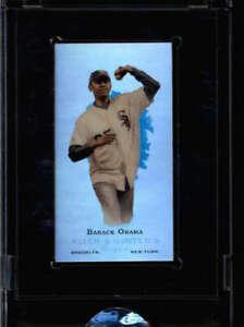 BARACK OBAMA 2008 ETOPPS TOPPS ALLEN & GINTER ORIGNAL SEALED CARD #/999 FC9840