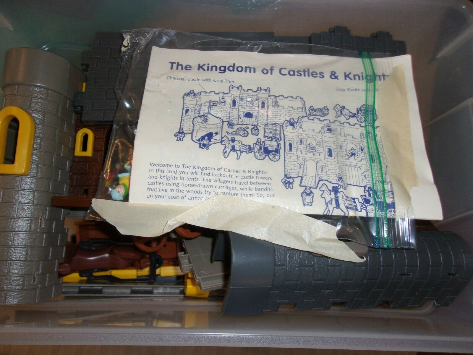 Old Castle and Knight Kingdom Building serie 1995
