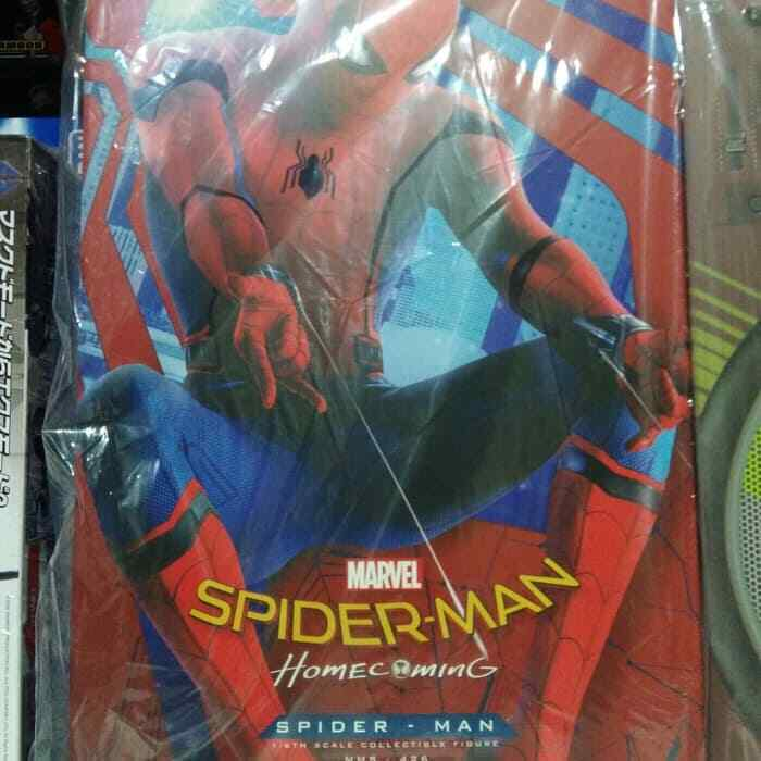 Hot Toys MMS426 Spider-Man Homecoming - SpiderMan (Deluxe Version) 1 6th