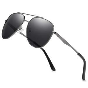 Image is loading Premium-Military-Men-Aviator-Polarized-Sunglasses-Women -Coating- d27c6804d6